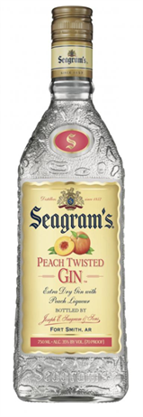 Seagram's Gin Peach Twisted